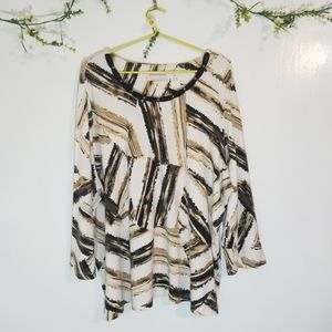 Alfred Dunner crew neck top